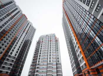 Внешнее оформление панельных жилых домов